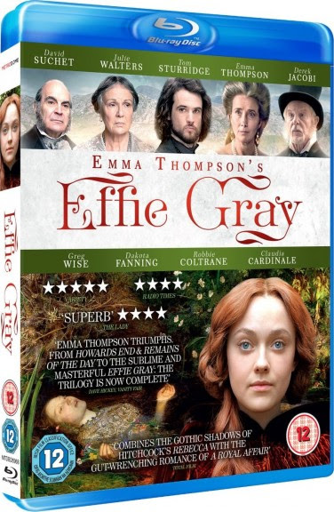 Filme Poster Effie Gray - Uma Paixão Reprimida BDRip XviD Dual Audio & RMVB Dublado