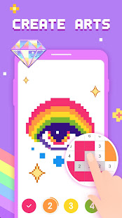 Game Paint by Number - Pixel Art, Free Coloring Book APK for Windows Phone