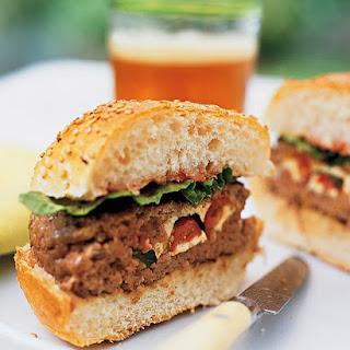 Stuffed Beef Burgers