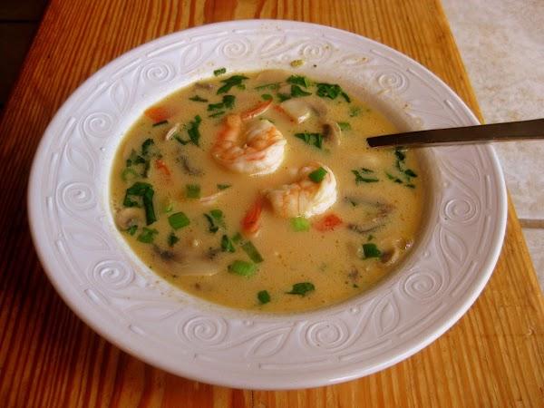 Thai Coconut Shrimp Soup Recipe