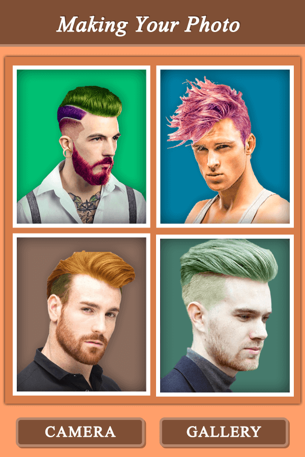 Mustache & Beard Color Effect - Hair Color Changer - Android Apps ...