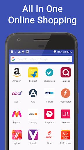 Online shopping application for android