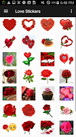 screenshot of ILove Stickers - Free