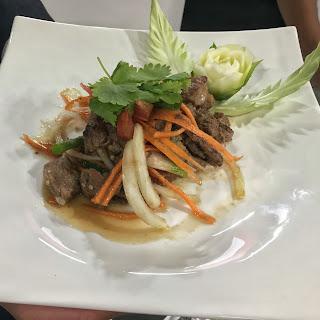 Thai Spicy Beef Salad (Yam Nuea Yang)