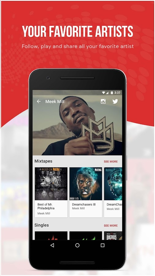 My Mixtapez Music- screenshot