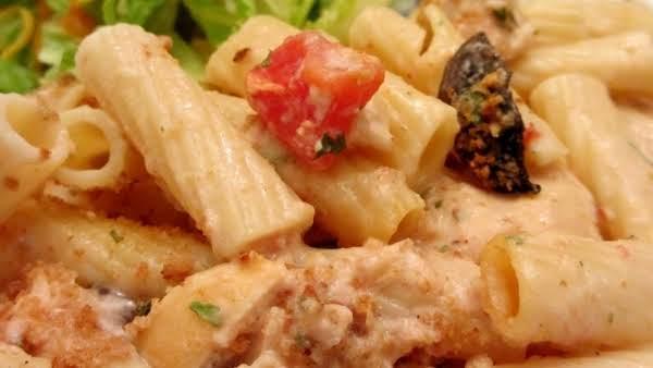 Zesty Alfredo Pasta Heaven Recipe