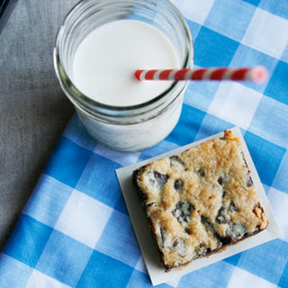 Triple Chocolate Chunk Cookie Bars Recipe