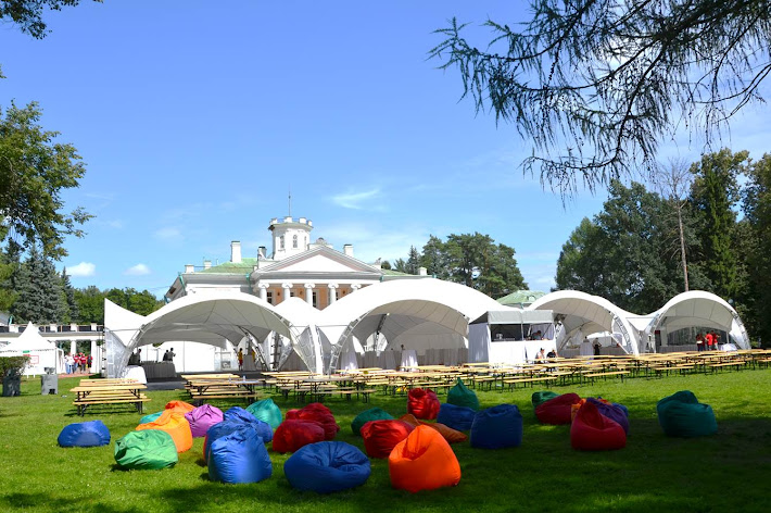 Фото №19 зала Площадка «Дворцовая» с шатром