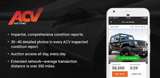 Car Auction Apps >> Acv Auctions The Dependable Wholesale Auto Auction Apps On