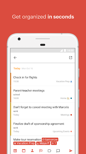 Todoist: To-do lists for task management & errands screenshot 1