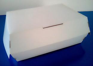 Photo: Caixa (22) para alimentos (sanduíchesgrandes, três hotdogs, chickens, etc.)