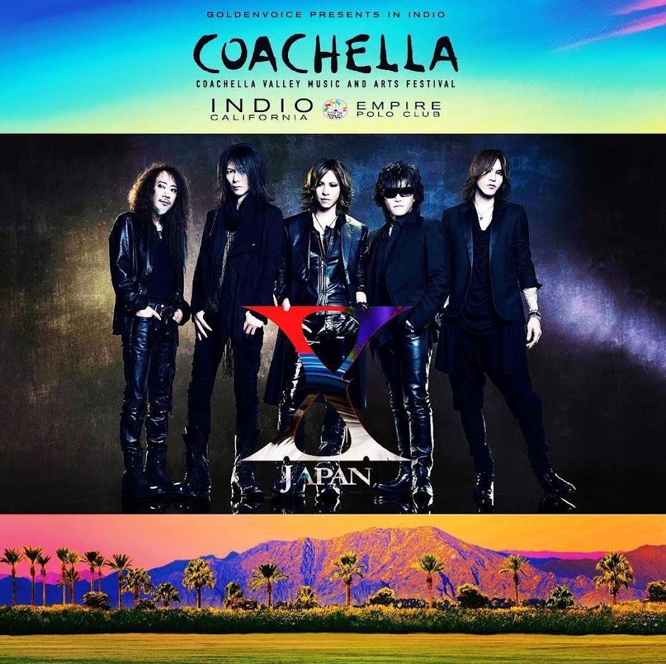 X JAPAN Coachella Festival 2018.4.21 セットリスト