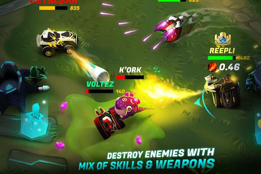 Tank Raid Online 2 - 3D Galaxy Battles  2
