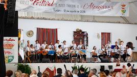 Imágenes de la celebración del XXXVIIFestival de Música Tradicional de la Alpujarra celebrada en Turón (Granada).