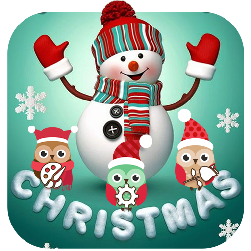 Cute Merry Christmas Snowman Theme Android APK Download Free By Fantastic Design