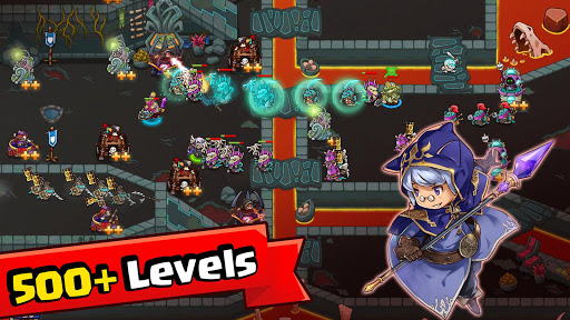 Crazy Defense Heroes screenshot 1