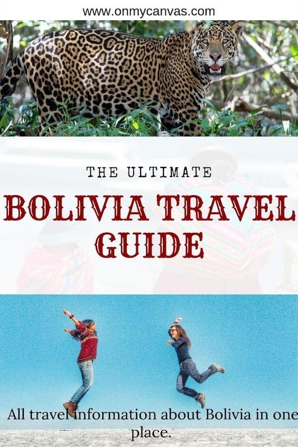 A Comprehensive Bolivia Travel Guide: The only guide you need to travel to Bolivia.  Bolivian Food | Bolivian People | Bolivia Visa | Things to do in Bolivia | Salar de Uyuni | Things to do in La Paz | History of Bolivia | Altitude in Bolivia | Best time to visit Bolivia | Is Bolivia Safe | What to do in Bolivia | Places to see in Bolivia | How to pack for Bolivia | Backpacking Bolivia | Bolivia Itinerary | Traveling Around South America #visitbolivia #bolivia #southamerica #backpacking