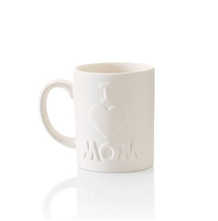 """Love Mom"" mugg - 8 st."