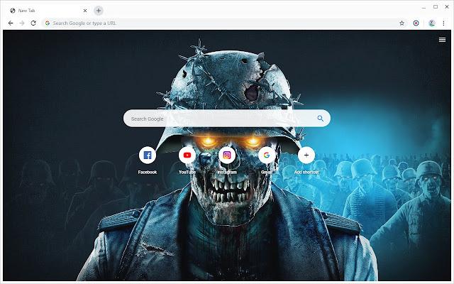New Tab - Zombie Army 4