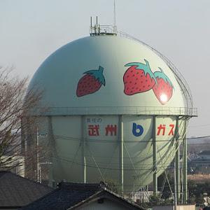 武州ガス 吉見製造所 ガスタンク