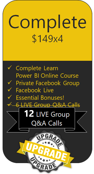 Learn Power BI Complete Edition with Free Upgrade
