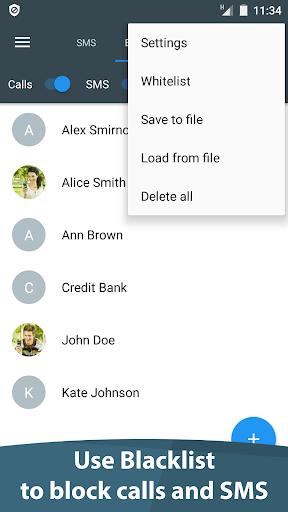 Calls Blacklist - Call Blocker Screenshot
