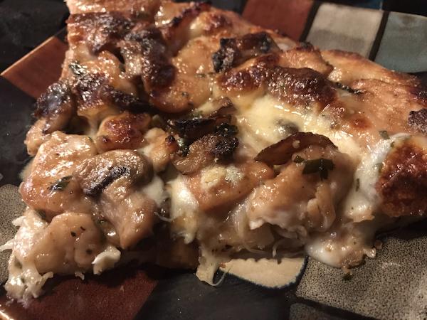 Chicken Marsala Pizza Recipe