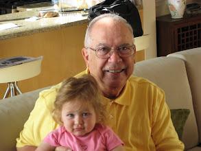 Photo: Grandpa and Leah