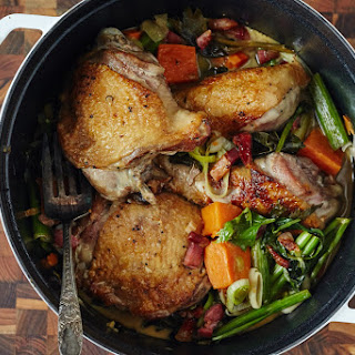 Dutch Oven Braised Turkey