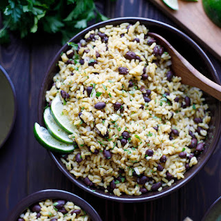 5-Minute Easy Rice and Beans.