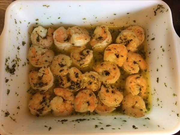 Shrimp In Garlic Butter (microwave) Recipe