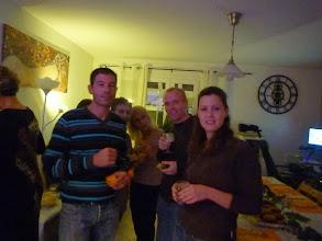 Photo: Les mêmes avec Marie-Jo à gauche.
