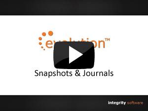 Snapshots & Journals