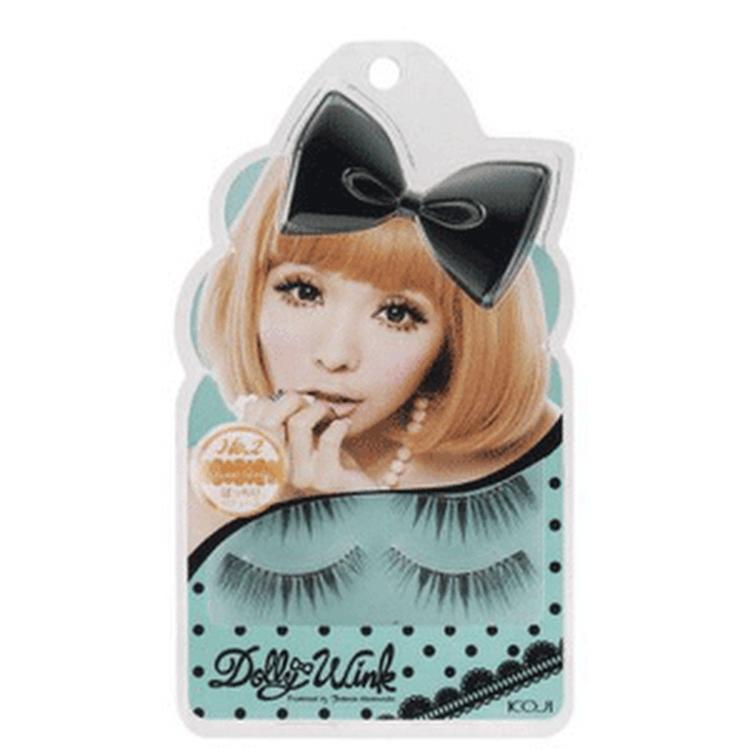 Koji Dolly Wink Japan False Eyelashes - #02 Sweet Girly by Supermodels Secrets