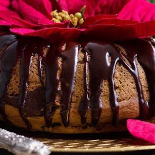 Chocolate Pumpkin Bundt Cake.