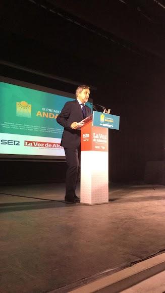 Ángel Escobar, vicepresidente de la Diputación Provincial de Almería.