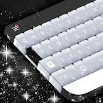 White Diamond Keyboard Theme Icon