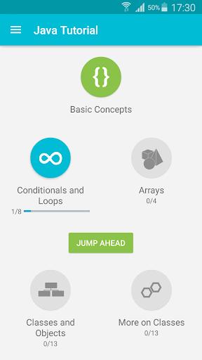 Learn Java 3.8.1 Screenshots 1