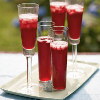 Champagne Pomegranate Cocktail