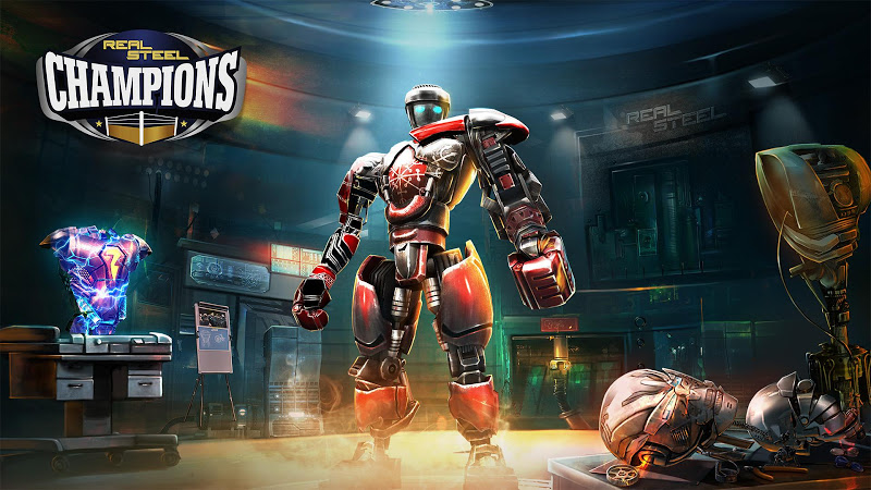 Real Steel Boxing Champions v1.0.356 (Mod Money)