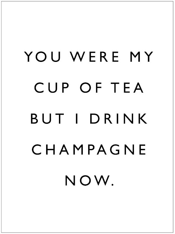 YOU WERE MY CUP