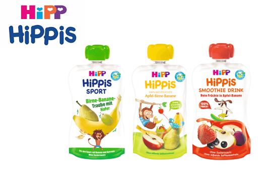 Bild für Cashback-Angebot: HIPP HiPPiS Quetschbeutel