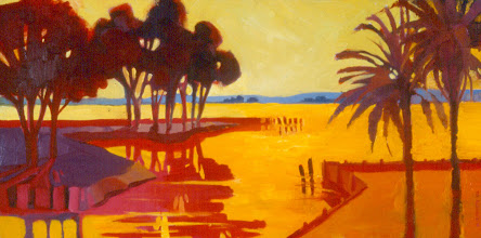 Photo: Palm Sunday, oil on canvas by Nancy Roberts, copyright 2014. Private collection.