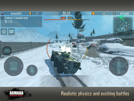 Armada: Modern Tanks - New Tank Fighting Game 3D 3.07 screenshots 5