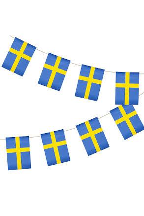 Flaggspel, Sverige