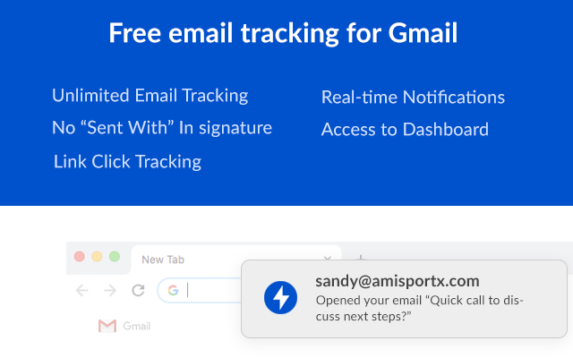 Free Email Tracking for Gmail - MailerPlex