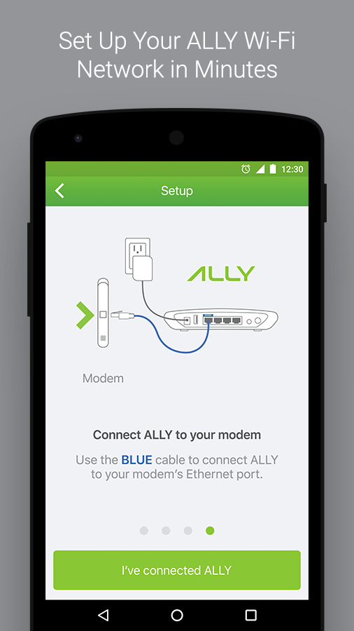 ALLY - Whole Home Wi-Fi System- screenshot