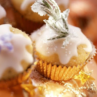 Miniature Lemon Drizzle Muffins