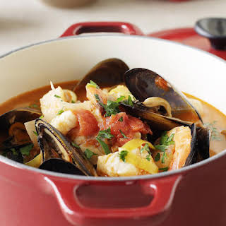 Mediterranean Seafood Stew.