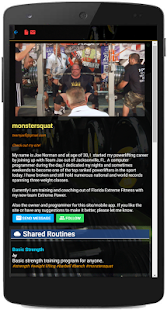 TREX Fitness Systems - Fitness Routine Builder
